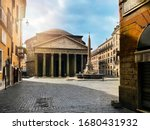The Pantheon And The Fountain...