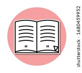books with pages sticker icon....