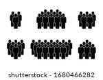 people icon set in trendy flat... | Shutterstock .eps vector #1680466282