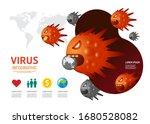 virus corona covid 19... | Shutterstock .eps vector #1680528082