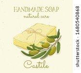 Castile Handmade Soap. Olive...