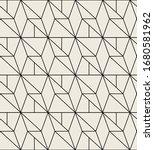 vector seamless pattern. modern ... | Shutterstock .eps vector #1680581962