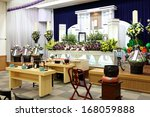 Funeral Home Interior Of...