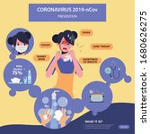 coronavirus prevention... | Shutterstock .eps vector #1680626275