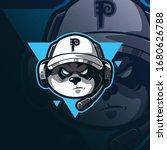 gamers mascot logo design... | Shutterstock .eps vector #1680626788