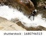 Canyon Rock Adventure Waterfall ...