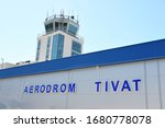 Tivat Airport Building With The ...