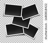 blank instant photo frames... | Shutterstock .eps vector #1680818422