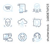 face detection  presentation... | Shutterstock .eps vector #1680876925