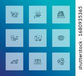 games icons line style set with ... | Shutterstock .eps vector #1680935365