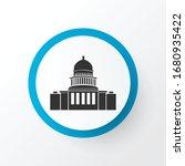 capitol hill icon symbol.... | Shutterstock .eps vector #1680935422
