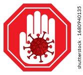 prevention covid   19... | Shutterstock .eps vector #1680940135