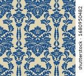 damascus seamless blue...