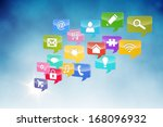 computer applications | Shutterstock . vector #168096932