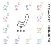 office chair on wheels multi...