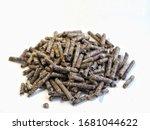 Beet Root Pellet Pile Renewabl...