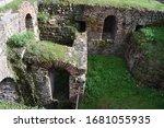 Roman Baths Ruin In Trier ...