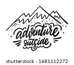 adventure outside. modern...   Shutterstock .eps vector #1681112272
