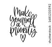 motivational mental health and...   Shutterstock .eps vector #1681233592