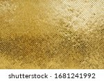 Shiny Gold Background Made Of...
