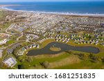 Aerial Photo Of A Large Carava...