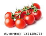 Bunch Of Fresh  Red Tomatoes...