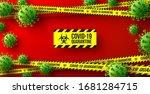 vector of coronavirus 2019 ncov ... | Shutterstock .eps vector #1681284715
