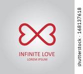 infinite love | Shutterstock .eps vector #168137618