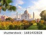 Beautiful Taj Mahal In The...