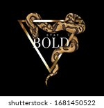 Stay Bold Slogan With Python...