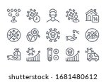 covid19 and transmission of...   Shutterstock .eps vector #1681480612