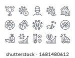 covid 19  coronavirus and... | Shutterstock .eps vector #1681480612