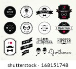 hipster style elements  icons... | Shutterstock .eps vector #168151748