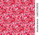 summer pink floral ditzy daisy...   Shutterstock .eps vector #1681518202