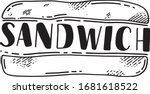Sandwich Sketch Logo ...