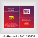 calendar icon. vector eps 10...