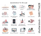 list of daily activities for... | Shutterstock .eps vector #1681776628