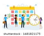 vector illustration  business... | Shutterstock .eps vector #1681821175