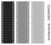 filmstrip pattern background... | Shutterstock . vector #168184922