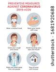 coronavirus covid 19...   Shutterstock .eps vector #1681920688