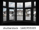 Suburban View From A Large...