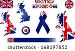 United Kingdom Icons. Set Of...