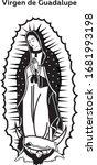 Vector De La Virgen De Guadalupe