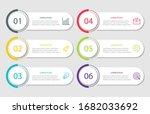 vector infographic design... | Shutterstock .eps vector #1682033692