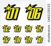 simpel racing start number...   Shutterstock .eps vector #1682120152