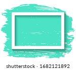 white frame and ink brush...   Shutterstock . vector #1682121892