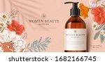 promo banner for fragrant... | Shutterstock .eps vector #1682166745