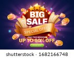 big sale pop up ads with... | Shutterstock .eps vector #1682166748