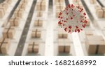 packages and symbolic virus... | Shutterstock . vector #1682168992