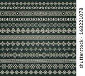 border decoration elements... | Shutterstock .eps vector #168221078